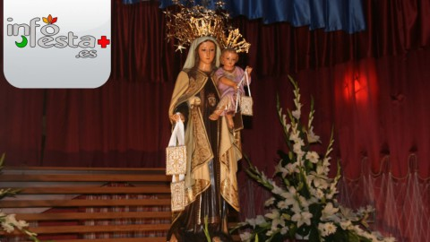 Virgen del Carmen en Burriana, 16 de Julio