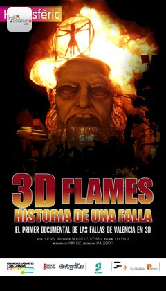 documental 3d flames fallas hemisferic