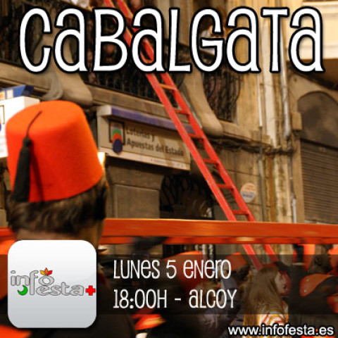 Retransmisión On-line Bando Real + Cabalgata Reyes Magos Alcoy